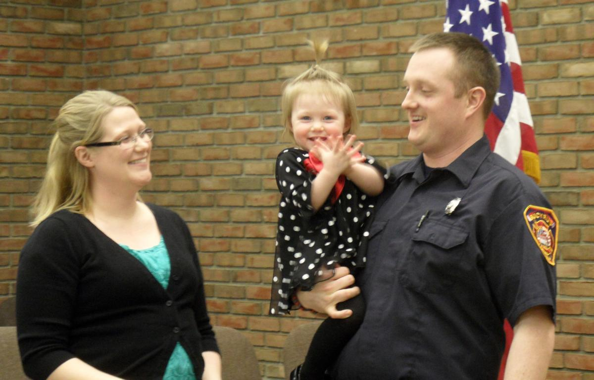 Bucyrus Welcomes Its Newest Firefighter Crawford County Now