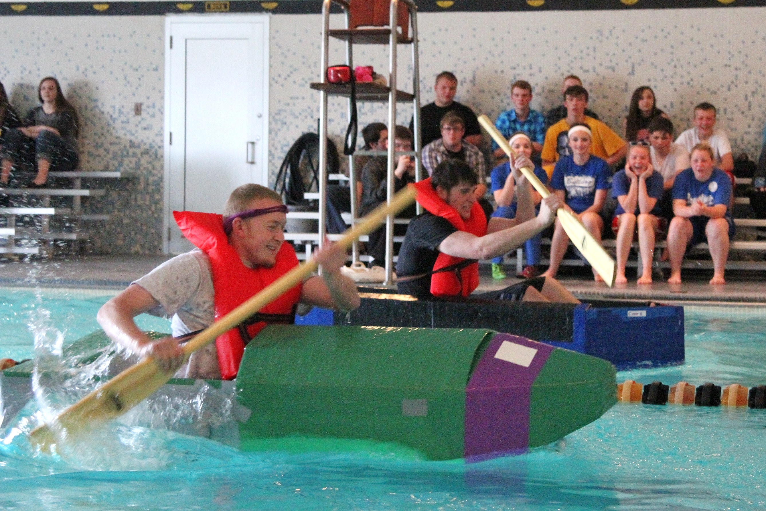 Crestline takes home top prize in the Cardboard Boat Regatta - Crawford County Now