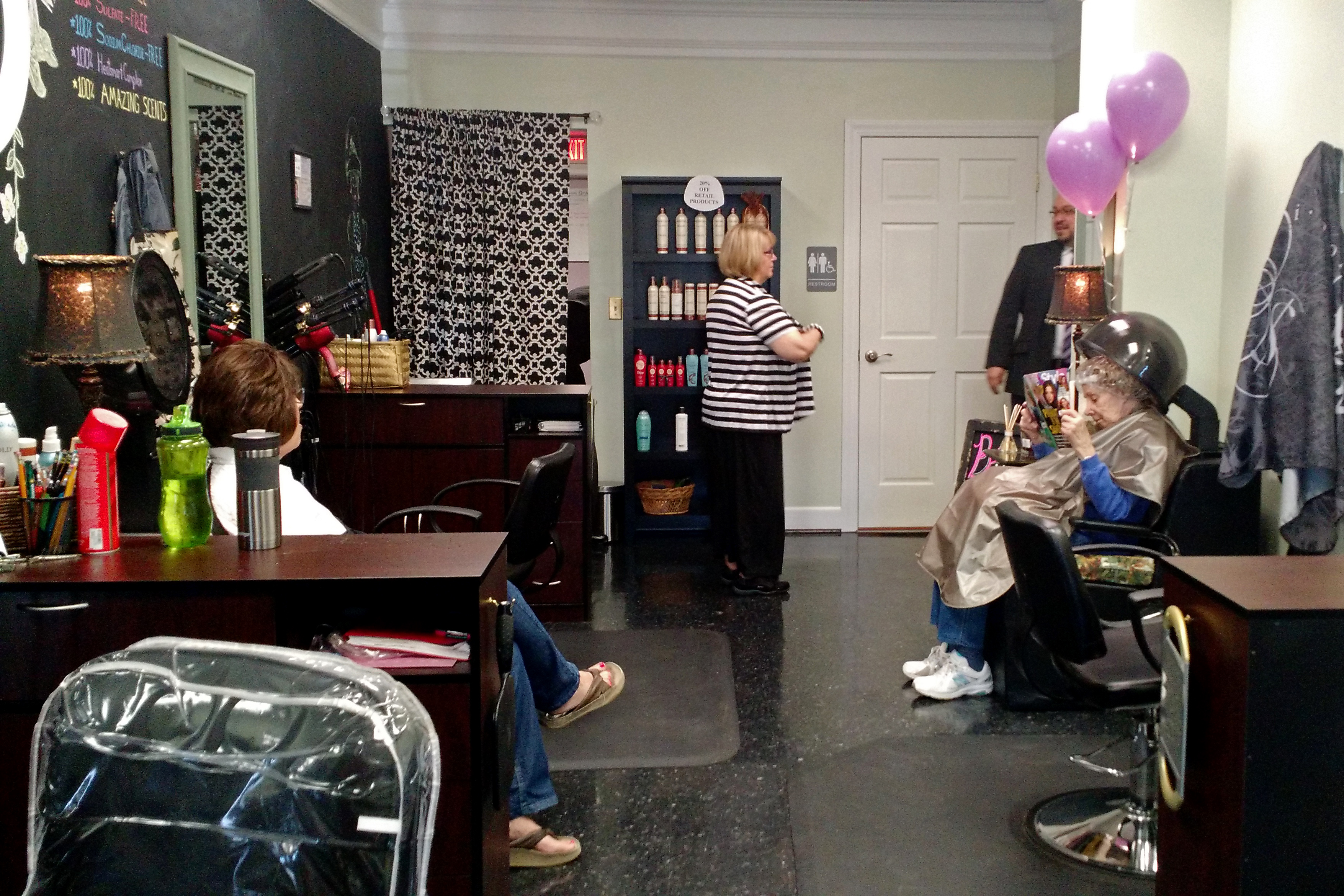 Kennedy layne salon ready to build relationships with for Salon kennedy