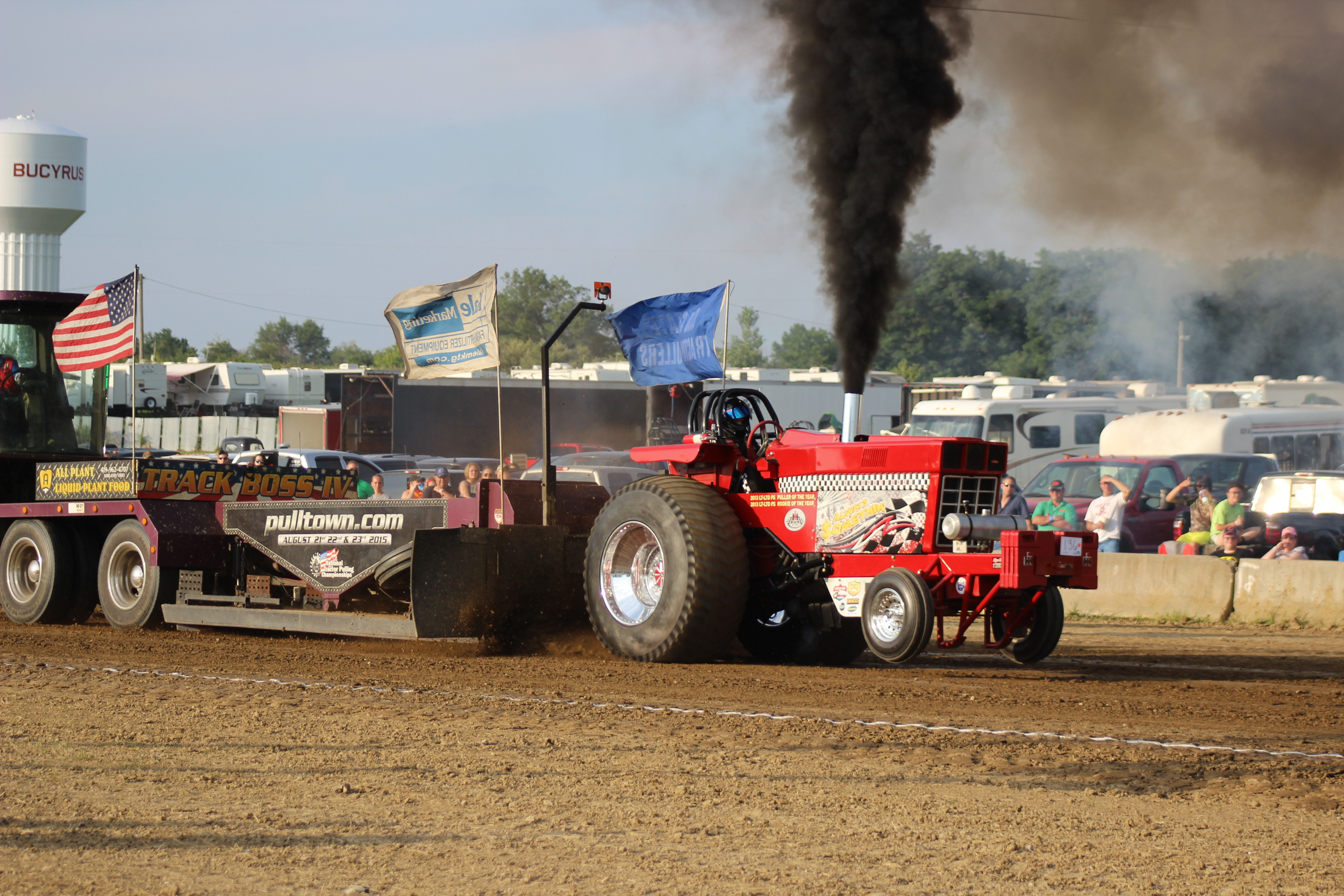 Tractor Pull Schedule : It s always something at the ostpa tractor pull