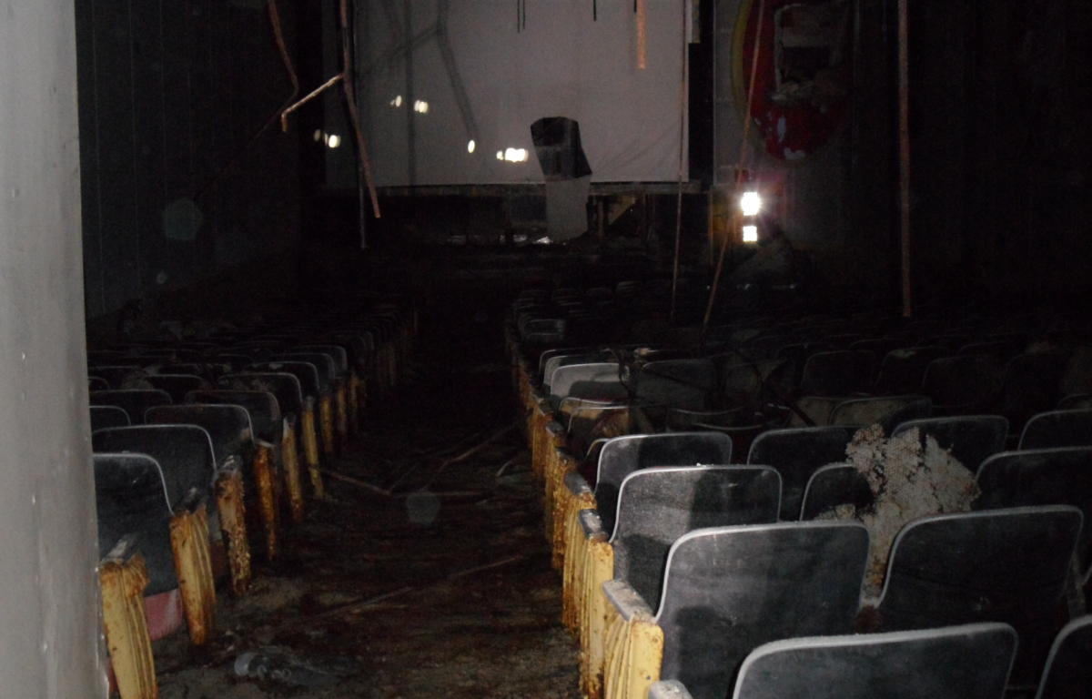 Curtain And Walls About To Fall For Old Bucyrus Theater