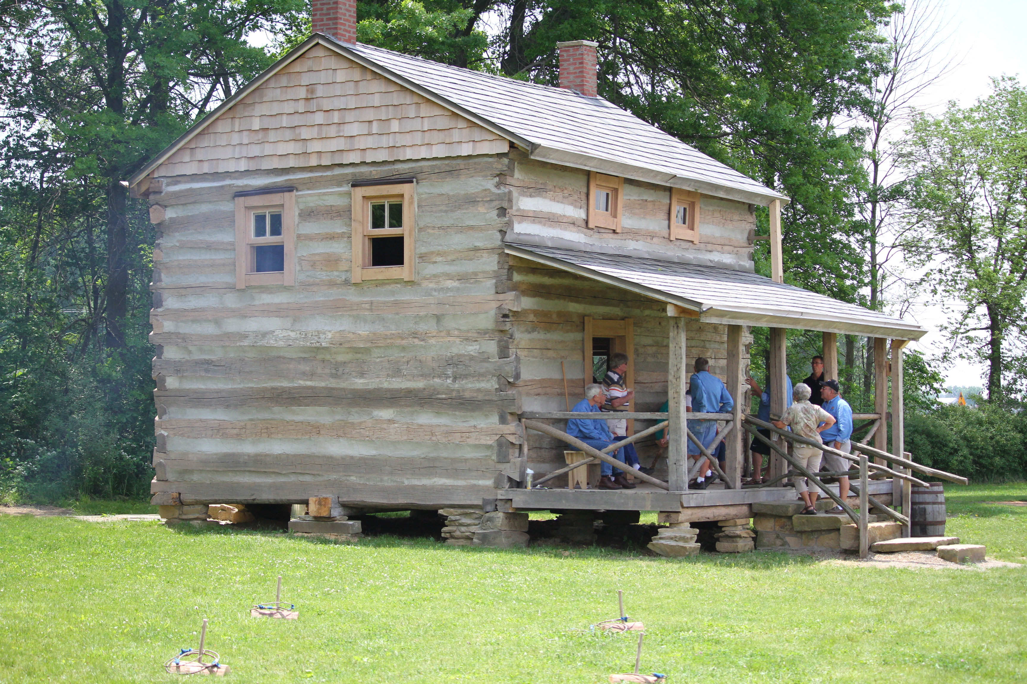 Open House At Historical Cabin Gives Visitors A View Into