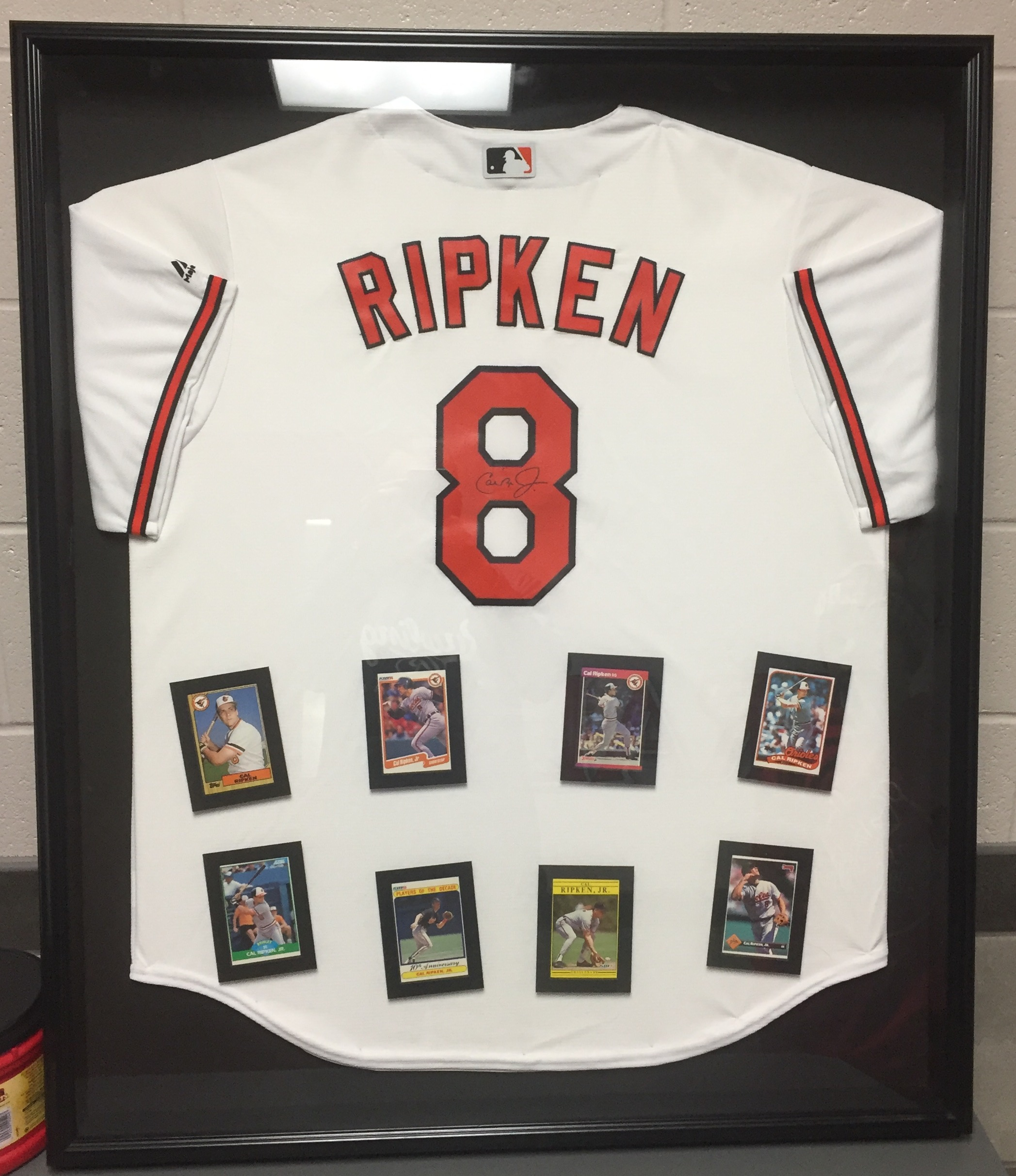 c34db12577c The Buckeye Knights Travel Baseball Club is raffling an autographed jersey  of Cal Ripken