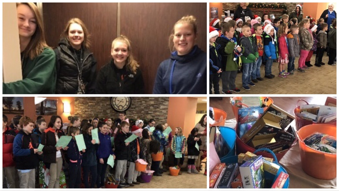 Galion students spread Christmas cheer - Crawford County Now