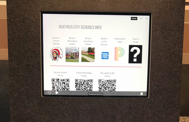 New kiosks part of Bucyrus Schools' growing communications strategy