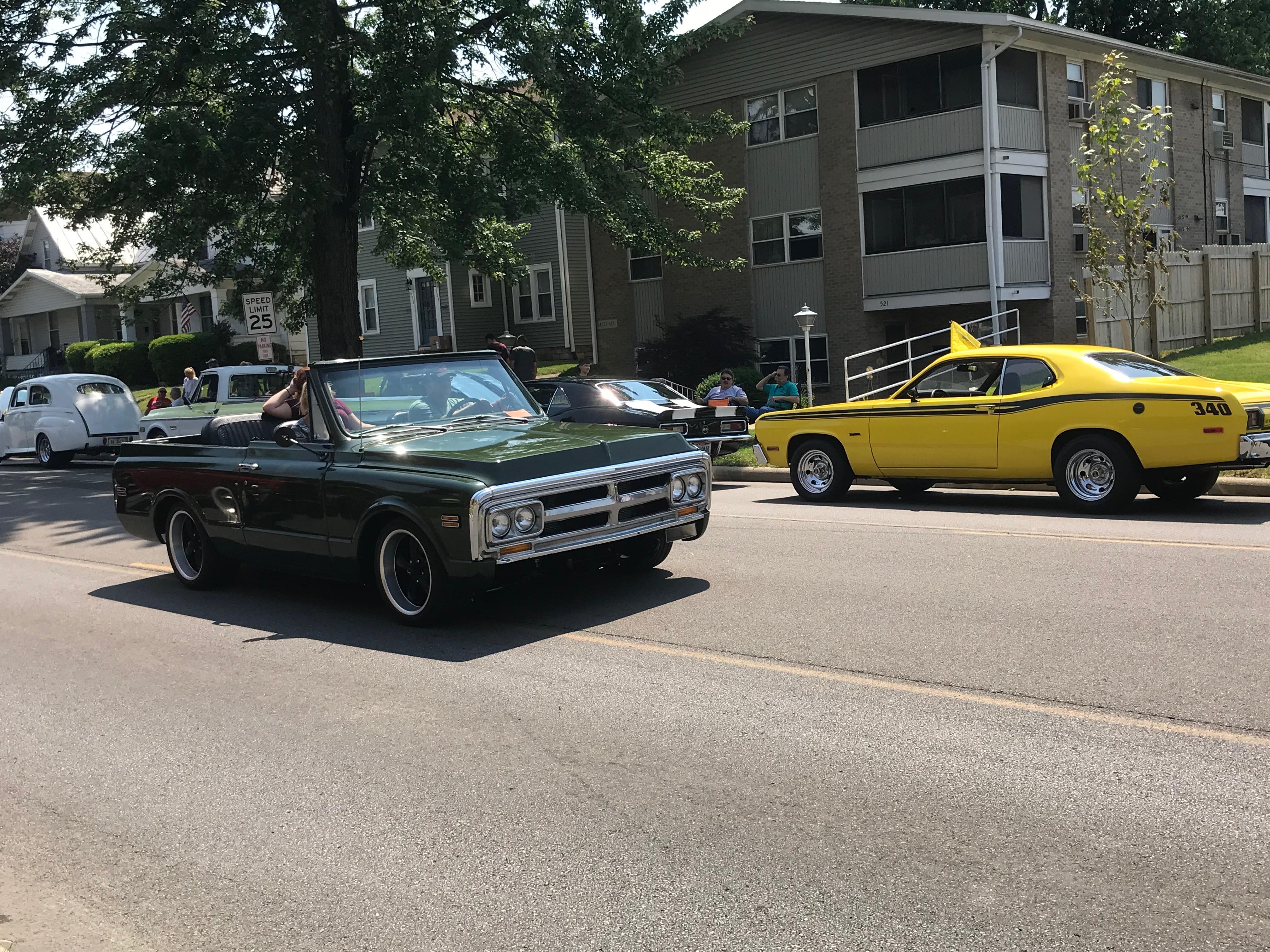 Car Show Considered Success Despite Rain Crawford County Now - Car shows near me now