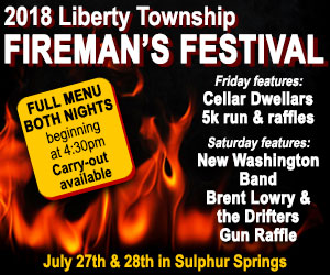 Liberty Township Fireman's Festival to offer music and fun